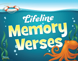 Ocean Commotion VBS: Lifeline Memory Verses Rotation Sign