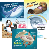 Ocean Commotion VBS: Daily Overview Posters