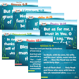 Ocean Commotion VBS: Primary Memory Verse Posters