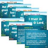 Ocean Commotion VBS: Pre-Primary Memory Verse Posters