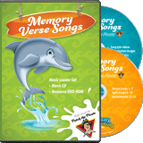 Ocean Commotion VBS: Traditional Memory Verse Music Leader Set