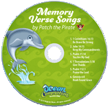 Ocean Commotion VBS: Traditional Memory Verse Songs Student CD