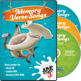Ocean Commotion VBS: Jumpstart3 Memory Verse Music Leader Set
