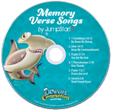 Ocean Commotion VBS: Jumpstart3 Memory Verse Music Student CD