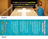 Ocean Commotion VBS: Admit, Believe, Forever Receive! Bookmark