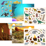 Ocean Commotion VBS: Reusable Sticker Set