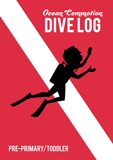 Ocean Commotion VBS: Dive Log and Sticker Set: Pre-Primary and Toddler: NKJV