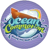 Ocean Commotion VBS: Logo Button