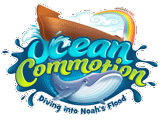Ocean Commotion VBS: Student Iron-On Logo