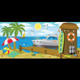 Ocean Commotion VBS: Seaside Shack Scene Setter