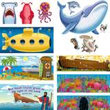 Ocean Commotion VBS: Scene Setter Pack