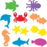 Ocean Commotion VBS: Underwater Cutouts