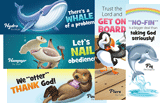 Ocean Commotion VBS: Animal Pals Bookmarks: KJV