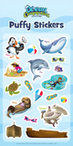 Ocean Commotion VBS: Puffy Sticker Set