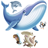 Ocean Commotion VBS: Animal Pals Scene Setter: PDF