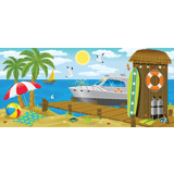 Ocean Commotion VBS: Seaside Shack Scene Setter: PDF