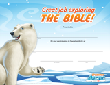 Operation Arctic VBS: Completion Certificates