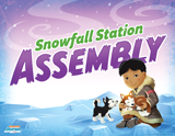 Operation Arctic VBS: Snowfall Station Assembly Rotation Sign