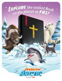 Operation Arctic VBS: Invitation Postcard