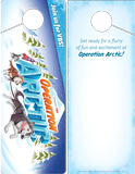 Operation Arctic VBS: Door Hangers