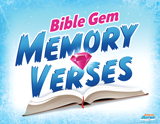 Operation Arctic VBS: Bible Gem Memory Verses Rotation Sign