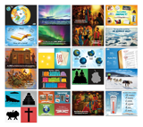 Operation Arctic VBS: Junior and Primary Illustration Posters