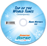 Operation Arctic VBS: Hand Motions DVD: Contemporary