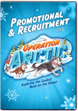 Operation Arctic VBS: Promotion and Recruitment Video: DVD