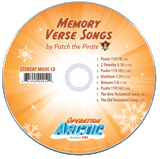 Operation Arctic VBS: Traditional Memory Verse Songs Student CD