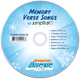Operation Arctic VBS: Jumpstart3 Memory Verse Music Student CD