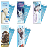 Operation Arctic VBS: Animal Pals Bookmarks: NKJV