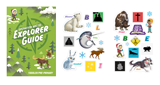 Explorer Guide and Sticker Set: Pre-Primary and Toddler NKJV: NKJV
