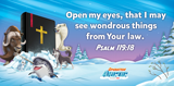 Operation Arctic VBS: Theme Verse Scene Setter