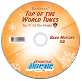Operation Arctic VBS: Hand Motions DVD: Traditional