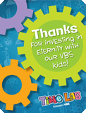 Time Lab VBS: Staff Appreciation Postcards