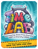 Time Lab VBS: Save the Date Postcard