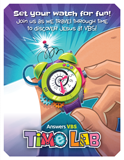 Time Lab VBS: Invitation Postcard