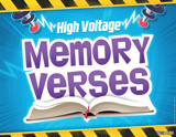Time Lab VBS: Bible Gem Memory Verses Rotation Sign