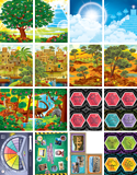 Time Lab VBS: Junior and Primary Illustration Posters