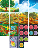 Time Lab VBS: Pre-Primary and Toddler Illustration Posters