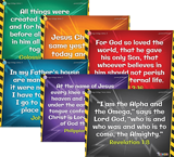 Time Lab VBS: Junior and Primary Memory Verse Posters