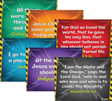 Time Lab VBS: Pre-Primary and Toddler Memory Verse Posters