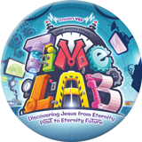 Time Lab VBS: Logo Button