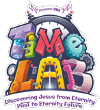 Time Lab VBS: Student Iron-On Logo