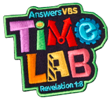 Time Lab VBS: Iron-On Patch