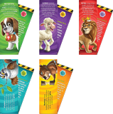 Time Lab VBS: Animal Pals Bookmarks: KJV