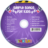 Time Lab VBS: Simple Songs for Kids: CD