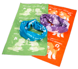Time Lab VBS: Tubular Bandanas: Purple