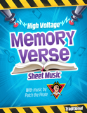 Time Lab VBS: Traditional Memory Verse Sheet Music: PDF