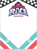 The Incredible Race VBS: Name Tags